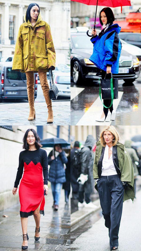 Весенние образы и идеи: Одеться стильно и красиво, когда с неба льет дождь