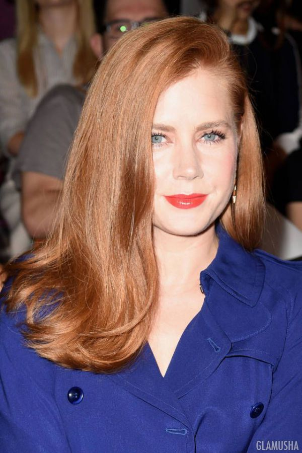 Рыжий цвет волос блонд фото