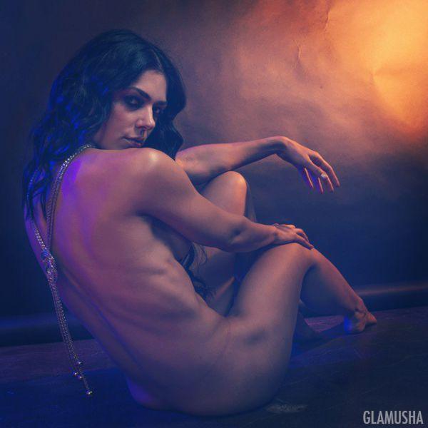 Худая голая девка  nashidevkicom