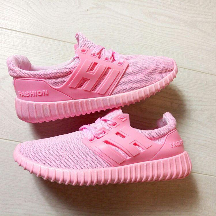 Все сходят с ума по розовым кроссовкам