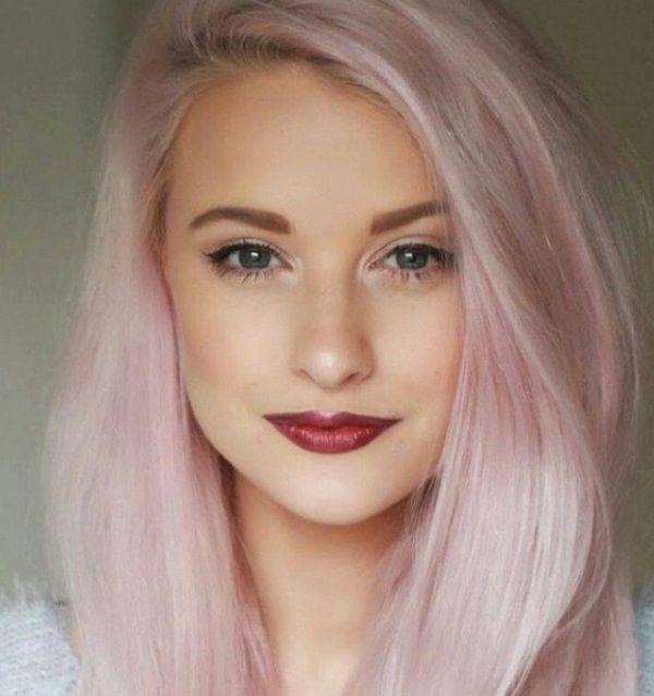 Бледно-розовый - самый крутой цвет волос этой весной