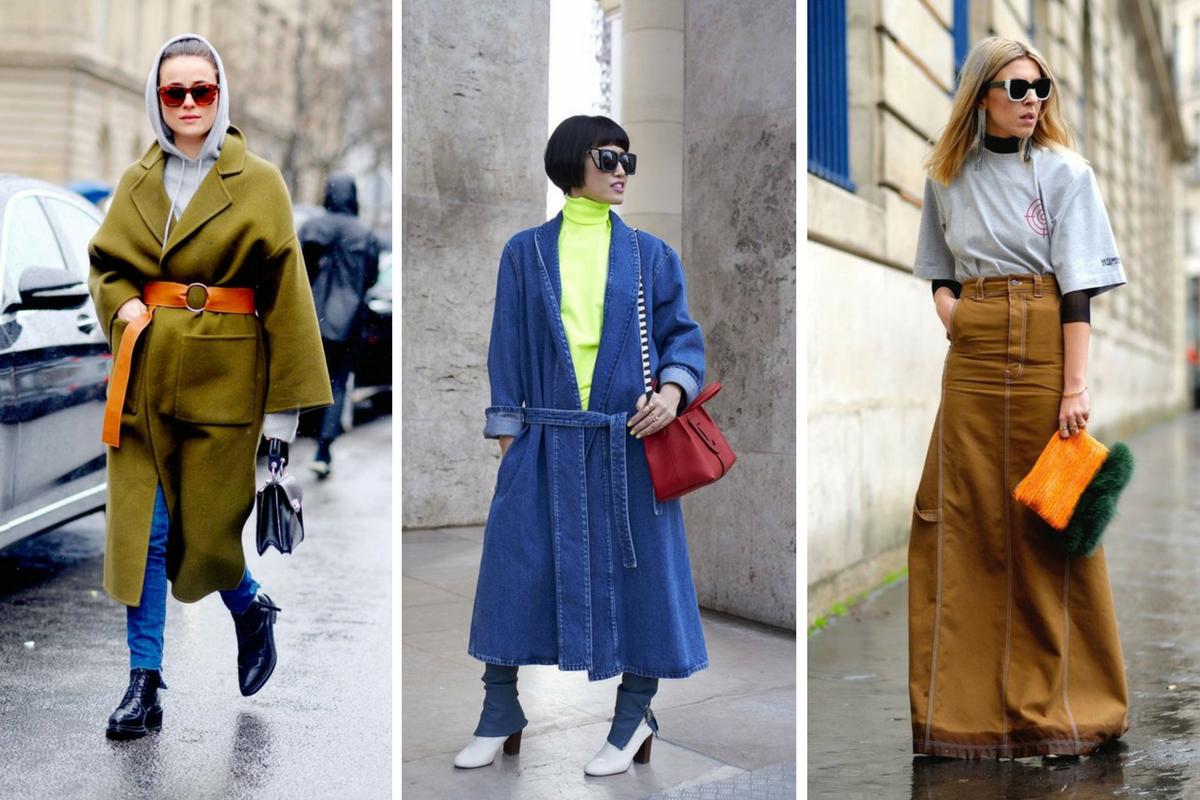 Уличный стиль на Неделе моды в Париже