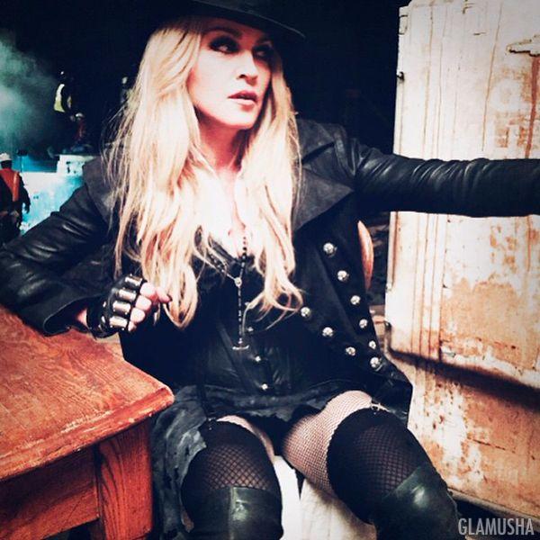 как худеет Мадонна