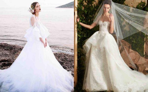 Свадебные платья: 9 самых красивых тенденций 2017 года