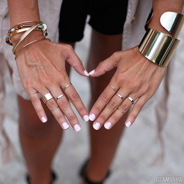 Как носить большие браслеты