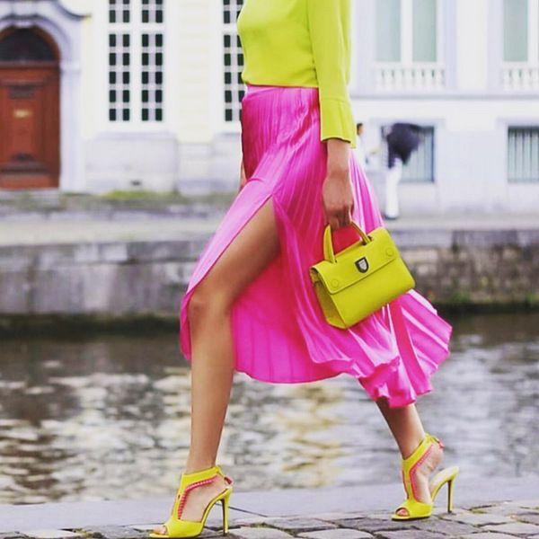 Плиссированные юбки: с чем носить, образы и идеи