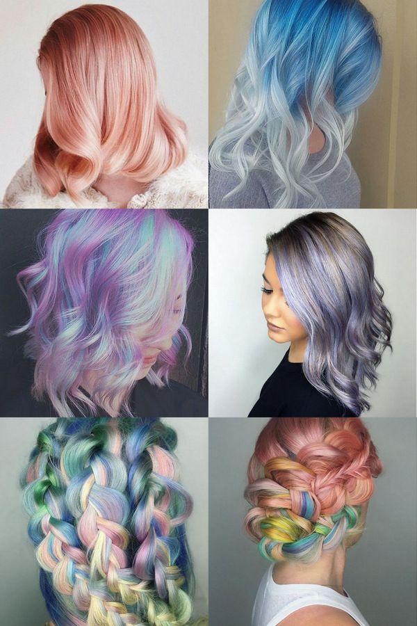 Разноцветная нежность наших волос