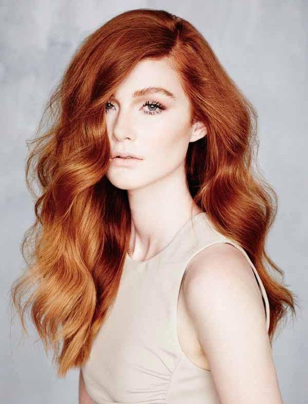 15 идей балаяжа для рыжих волос
