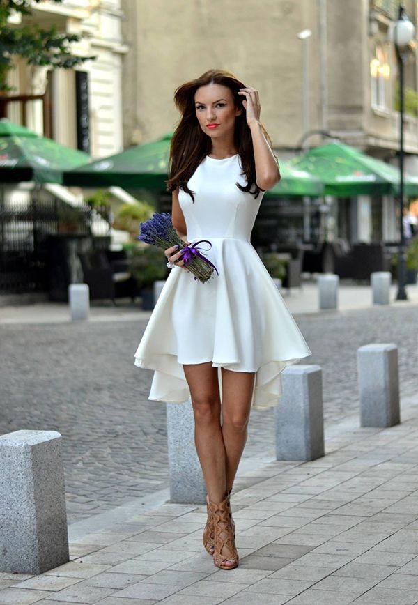 Белое платье: ваш помощник в выборе - любой стиль, любой бюджет