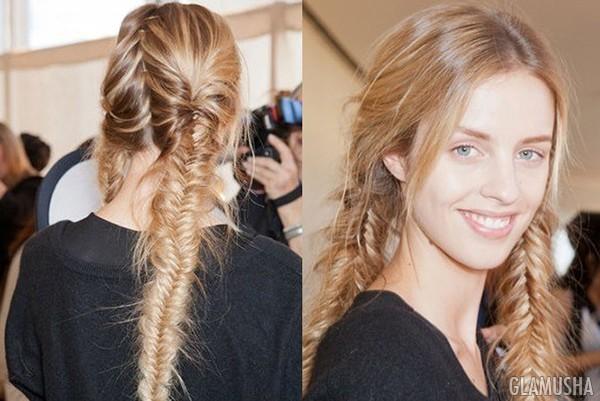 Как сделать 2 косички на волосах