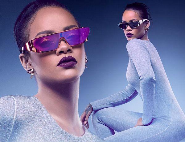 Rihanna для Dior: футуристическая коллекция солнцезащитных очков