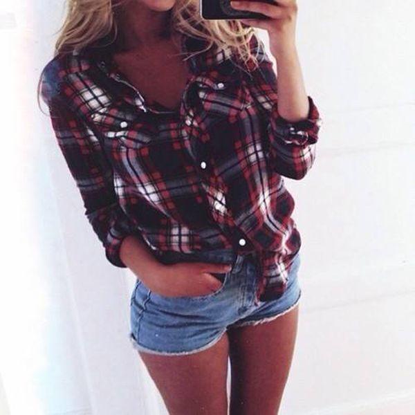 Модная женская рубашка - как носить