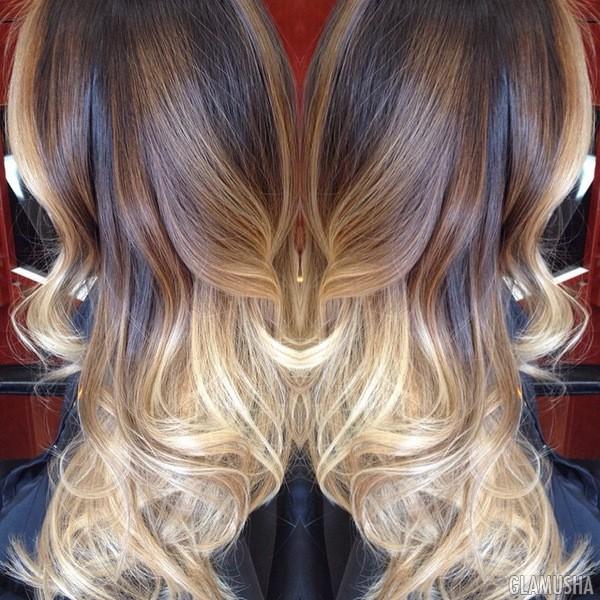 коричневые волосы с пепельным оттенком