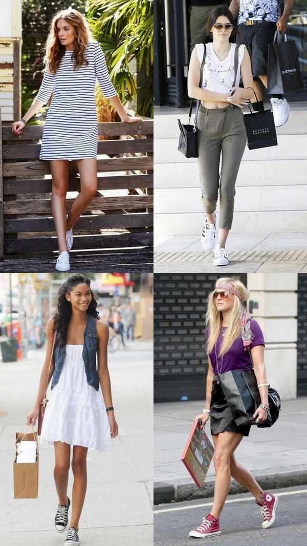 Кеды и конверсы в гардеробе: модное удобство!