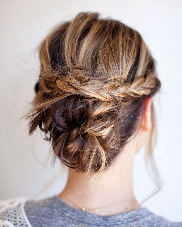 Плетение для средних волос: выбираем подходящие идеи (фото, видео)