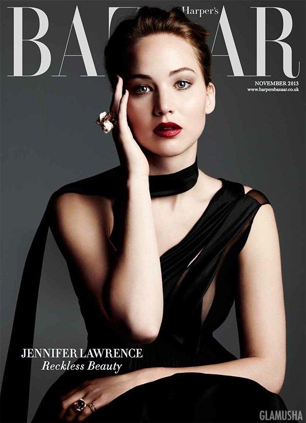 Дженнифер Лоуренс, Bazaar, ноябрь 2013