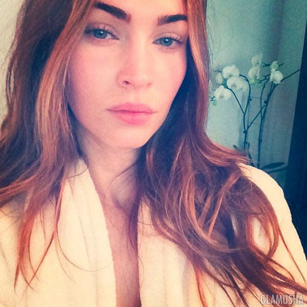 Меган Фокс без макияжа, instagram