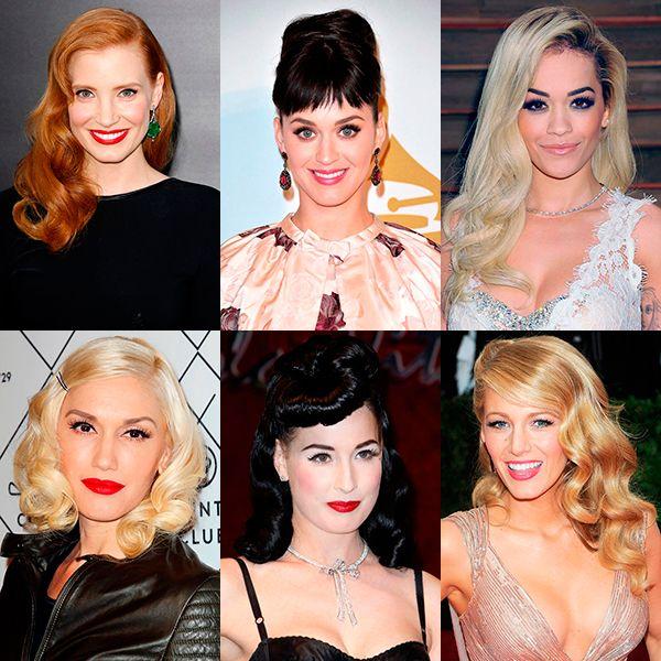 24 роскошные ретро-причёски