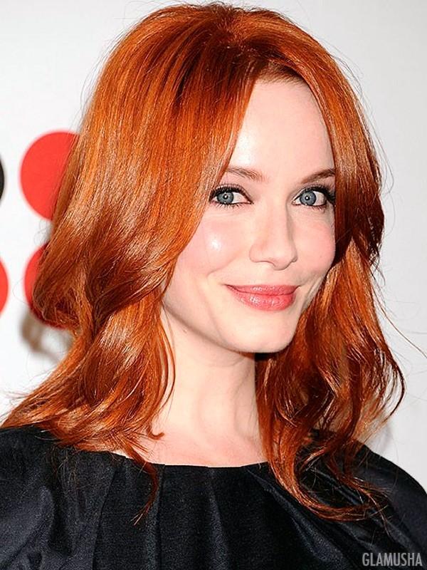 цвет бровей под рыжие волосы