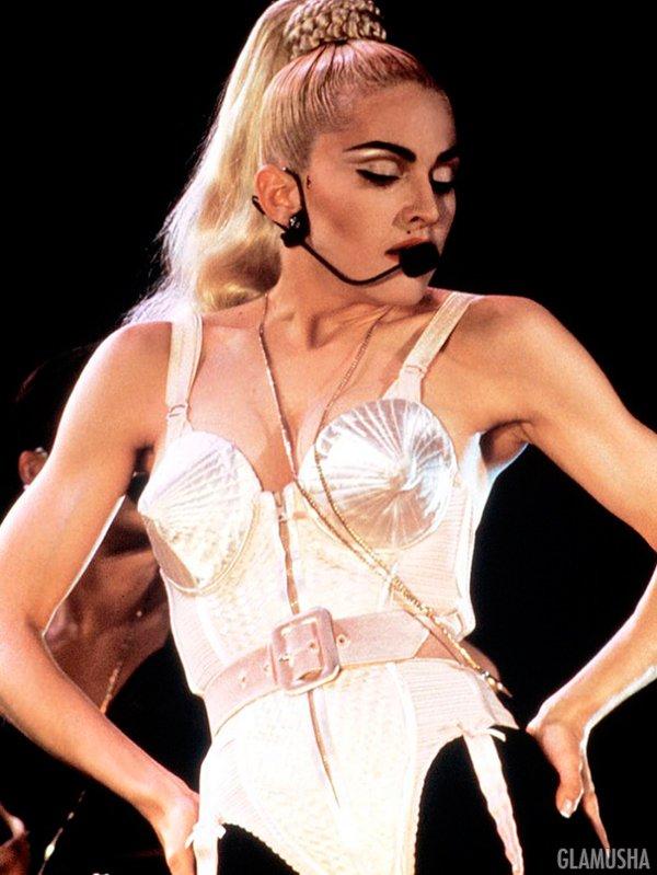 прически 80-х Мадонна