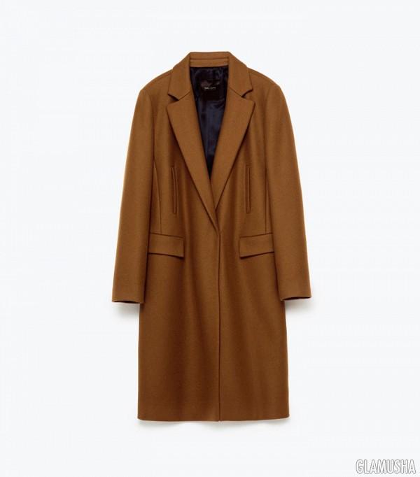 Роскошь и простота: обзор зимних пальто Zara Сюртук Мужской Купить