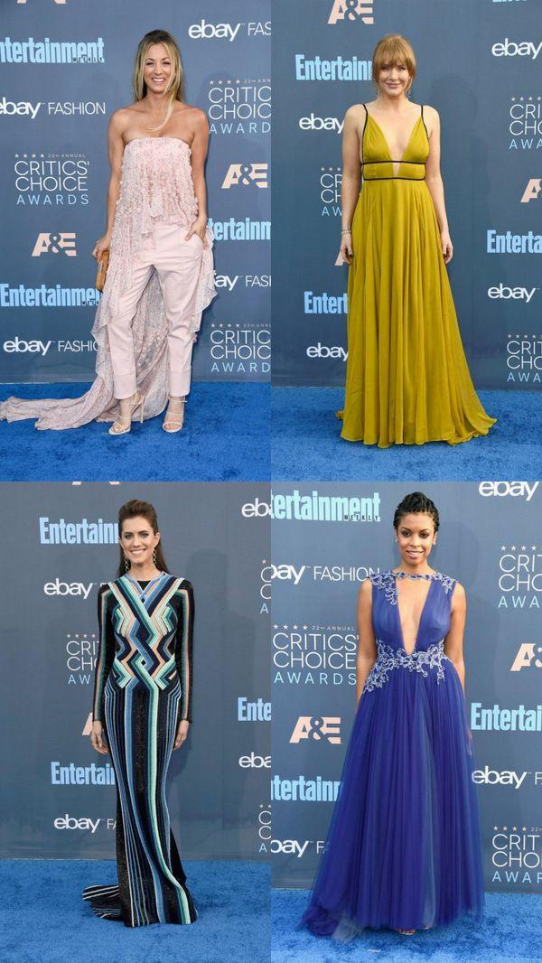 Самые оригинальные образы Critics' Choice Awards 2016