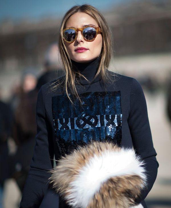 Темно-синий цвет в модных образах стритстайла