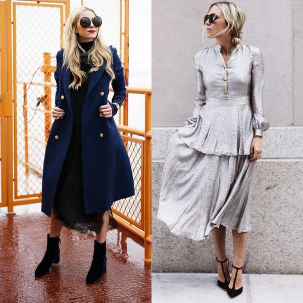 Зимние платья: будни и праздники