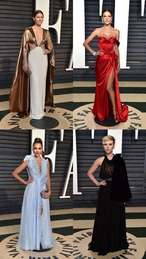 Оскар: платье на афтепати