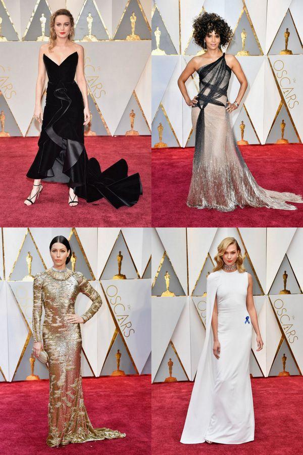 25 лучших платьев, покоривших красную дорожку церемонии Оскар