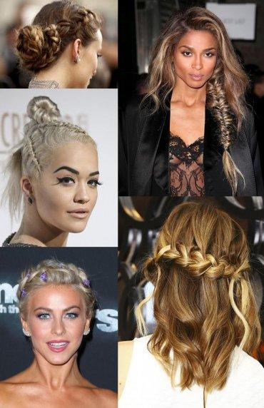 25 причесок с косами для вдохновения