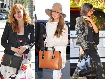 Девушки с обложек выбирают сумки от Celine и Saint Laurent