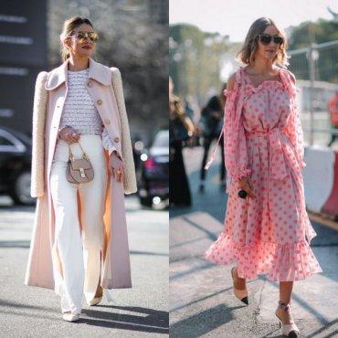 Как носить розовый в повседневной одежде: тренды весны и лета