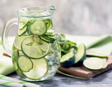 Огуречная вода: самый популярный детокс-напиток