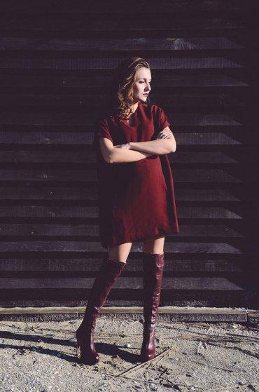 Сапоги-ботфорты - с чем носить зимой 2015 (фото)