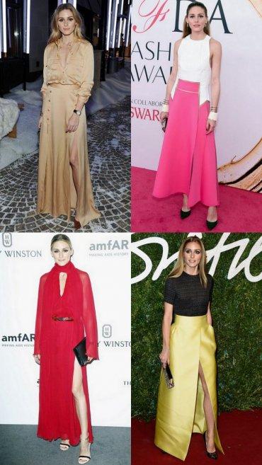 Идеальные платья для торжественных случаев от Оливии Палермо