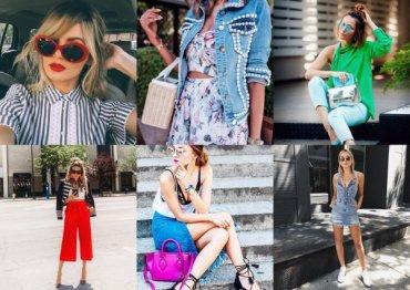 Модные образы и идеи: от солнцезащитных очков до платьев