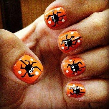 50+ идей рисунков на ногтях для Хэллоуина