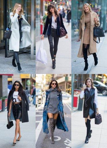 25 повседневных осенних образов моделей Victoria's Secret 2016