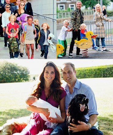 ТОП-15: Самые знаменитые семьи