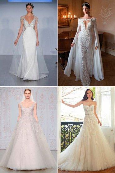 10 свадебных платьев, вдохновленных луками знаменитостей