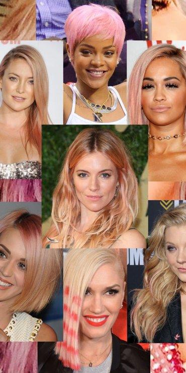 16 знаменитостей с розовыми волосами. Попробуйте и вы!